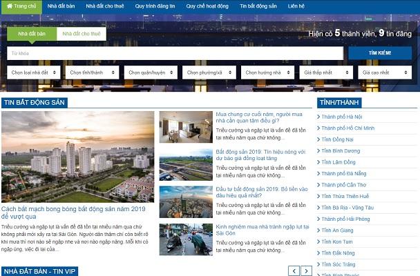Theme Wordpress động sản số 21 - SanBDS