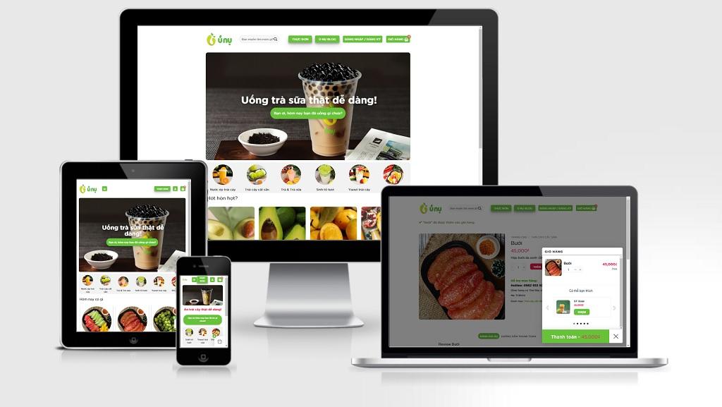 theme wordpress bán thực phẩm